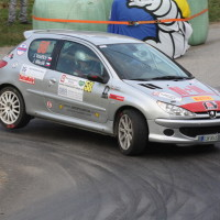 Rebenland Rallye 2014 Peugeot 206 RC Jakub Voldrich SP 12