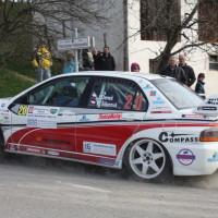 Rebenland Rallye 2014 Mitsubishi Lancer EVO IX Josef Denes SP6