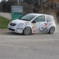 Rebenland Rallye 2014 Citroen C2R2 Andreas Sumann SP6