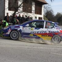 Rebenland Rallye 2014 Peugeot 206 RC Alfred Leitner SP 6
