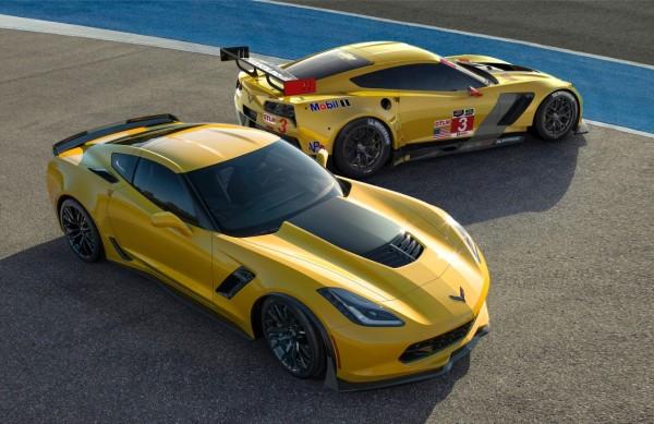 Europadebüt der Performance-Modelle Corvette Z06 und Corvette C7.R in Genf