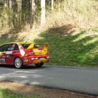 Lavanttal Rallye 2014 Mitsubishi Lancer EVO IX Günter Karbun SP 8