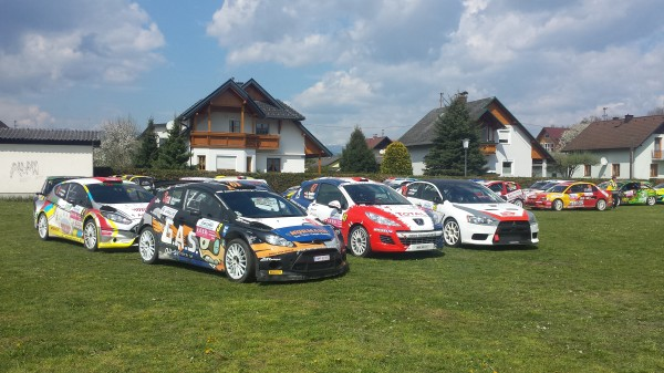 Lavanttal Rallye 2014 Parc Ferme Service Zone