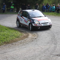 Lavanttal Rallye 2014 Citroen C2 R2 MAX Tomas Pospislik SP5