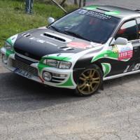 Lavanttal Rallye 2014 Subaru Impreza Manuel Feuchtner Anja Hechinger SP 5