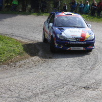 Lavanttal Rallye 2014 Peugeot 206 RC Alfred Leitner Jasmin Noll SP 5