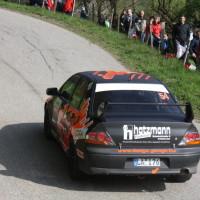 Lavanttal Rallye 2014 Mitsubishi Lancer EVO VIII Manuel Egginger SP 5