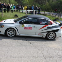 Lavanttal Rallye 2014 Mitsubishi Lancer EVO X Peter Ölsinger SP 5