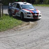 Lavanttal Rallye 2014 Mitsubishi EVO IX Norbert Liebert SP 5