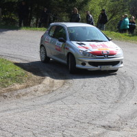 Lavanttal Rallye 2014 Peugeot 206 RC Jakub Voldrich SP 5