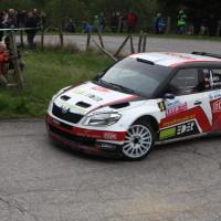 Lavanttal Rallye 2014 Skoda Fabia S2000 Mario Saibel SP5
