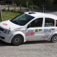 Lavanttal Rallye 2014 Fiat Panda Franci Bozic SP 5