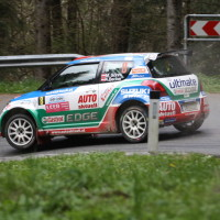 Lavanttal Rallye 2014 Suzuki Swift S1600 Michael Böhm Katrin Becker SP 8