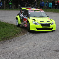 Lavanttal Rallye 2014 Skoda Fabia S2000 Chris Brugger Klaus Wicha SP5