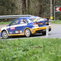 Lavanttal Rallye 2014 Mitsubishi Lancer EVO X Hermann Gaßner sen  SP 8