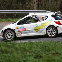 Lavanttal Rallye 2014 Peugeot 207 S2000 Hannes Danzinger Barbara Watzl SP 8