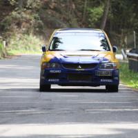 Lavanttal Rallye 2014 Mitsubishi Lancer EVO IX Asja Zupanc Blanka Kacin  SP 8