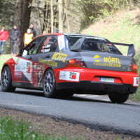 Lavanttal Rallye 2014 Mitsubishi Lancer EVO IX R4 Andreas Mörtl SP 8