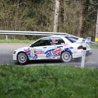 Lavanttal Rallye 2014 Mitsubishi Lancer EVO IX Jani Trcek SP 8