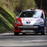 Lavanttal Rallye 2014 Peugeot 207 R3T Alois Handler Andreas Scherz SP 8