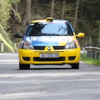 Lavanttal Rallye 2014 Renault Clio RS Tomas Hrvatin SP 8