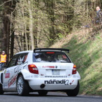 Lavanttal Rallye 2014 Skoda Fabia S2000 Jiri Tosovsky SP 8