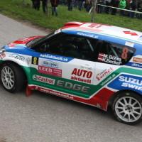 Lavanttal Rallye 2014 Suzuki Swift S1600 Michael Böhm Katrin Becker SP 5