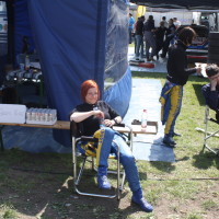 Lavanttal Rallye 2014 Service Kacin Blanka