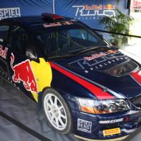 Lavanttal Rallye 2014 Service Mitsubishi Lancer EVO Hermann Gassner jun Projekt Spielberg