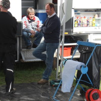 Lavanttal Rallye 2014 Service Manfred Stohl Stohl Racing