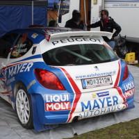 Lavanttal Rallye 2014 Peugeot 207 S2000 Walter Mayer Service