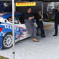 Lavanttal Rallye 2014 Peugeot 207 S2000 Walter Mayer Service Catharina Schmidt Mechaniker