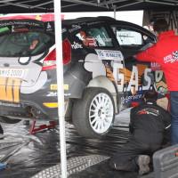 Lavanttal Rallye 2014 Ford Fiesta S2000 Hermann Neubauer Bernhard Ettel Service