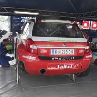 Lavanttal Rallye 2014 Skoda Fabia S2000 Mario Saibel Service