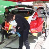 Lavanttal Rallye 2014 Ford Fiesta R5 Gerwald Grössing Siegfried Schwarz Service