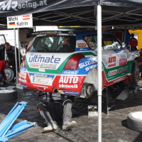 Lavanttal Rallye 2014 Suzuki Swift S1600 Michael Böhm Katrin Becker Service