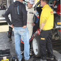 Lavanttal Rallye 2014 Ford Fiesta S2000 Hermann Neubauer Andreas Aigner Reifen Frage Service