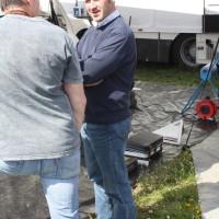 Lavanttal Rallye 2014 Service Fahrerlager Manfred Stohl Racing