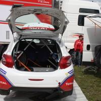 Lavanttal Rallye 2014 Service Peugeot