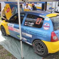 Lavanttal Rallye 2014 Renault Clio RS Tomas Hrvatin Service