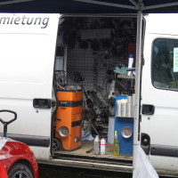 Lavanttal Rallye 2014 Mitsubishi Lancer EVO IX R4 Andreas Mörtl Service Ersatzteile Lager Mobil