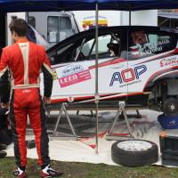 Lavanttal Rallye 2014 Citroen C2 R2 MAX Tomas Pospislik Service