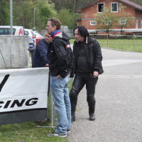 Lavanttal Rallye 2014 Service Fahrerlager Manfred Stohl Racing Michael Noir Trawnicek