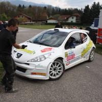 Lavanttal Rallye 2014 Peugeot 207 S2000 Hannes Danzinger Barbara Watzl Service