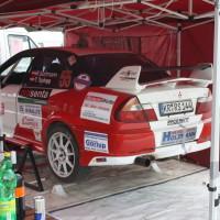 Lavanttal Rallye 2014 Mitsubishi Lancer Evo VI RS Robert Surtmann Service