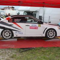 Lavanttal Rallye 2014 Mitsubishi Lancer EVO X Peter Ölsinger Service