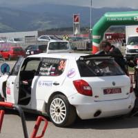 Lavanttal Rallye 2014 Skoda Fabia S2000 Dmitry Biryukov Service