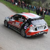 Lavanttal Rallye 2014 Subaru Impreza R4 Sandro Wallenwein SP 5