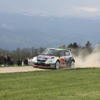Lavanttal Rallye 2014 Skoda Fabia S2000 Raimund Baumschlager Thomas Zeltner SP 11