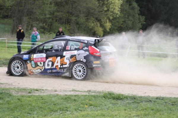 Lavanttal Rallye 2014 Ford Fiesta S2000 Hermann Neubauer SP 11 Rundkurs Eitweg